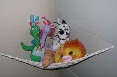 Crochet a Toy Storage Hammock