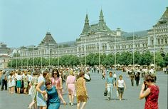 An amazing collection of photos of Moscow from the 60s