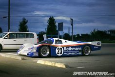 Waiting for that next day! That next drive! #porsche #962 #outinthewild Photo credit: @thespeedhunters