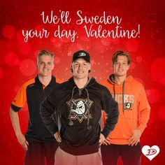 Ducks nhl hockey valentine