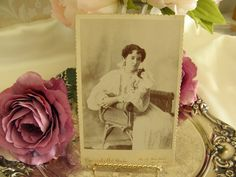 Lovely Victorian Woman Cabinet Card Photo door ChantillysRose, $6.99