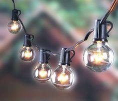 50ft Outdoor G40 Globe String Lights with 50 Clear Bulbs,... https://www.amazon.com/dp/B01KUWFWLE/ref=cm_sw_r_pi_dp_U_x_6DMjBbDHTTGPS