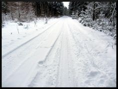 Vintercykling.