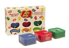 (via Domestic Sluttery) Candle Box, Jelly Belly, Candy Shop, Scented Candles, Apple, Future, Fun, Kids, Apple Fruit
