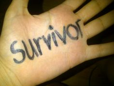 """Survivor""  A message of solidarity to survivors of torture from a Freedom from Torture supporter  http://www.freedomfromtorture.org/feature/survivors_speak_out/5993"