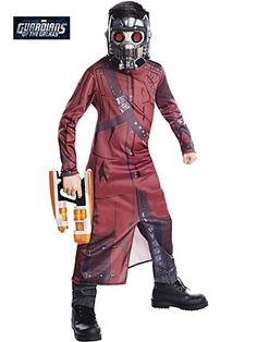 Classic Guardians Of The Galaxy Star Lord Costume From  WholesaleHalloweenCostumes.com! Boy Costumes,