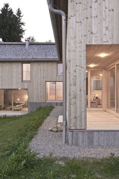 Gallery of D. Residence / LP Architektur – 4 – Brigita Bivina Gallery of D. Residence / LP Architektur – 4 Gallery of D. Timber Buildings, Cabin In The Woods, Facade House, Prefab, Cladding, Decks, Interior Architecture, My House, Cottage