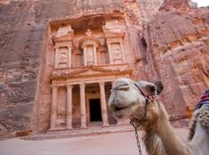 camels and I don't get along but I will be riding up on one to visit Petra.
