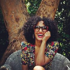Tracie Ellis Ross. I've always loved her hair and her style!