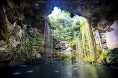 Cenote Azul, Chinkulti, Chiapas, México