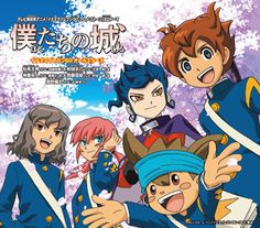 Inazuma Eleven GO 2 Chrono Stone ED3 / ED4 Single