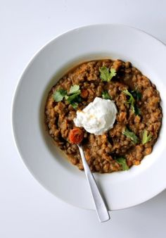Coconut Curried Sweet Potato and Lentil Stew - Ambitious Kitchen
