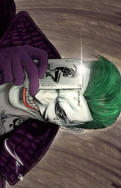 The Joker is so cool , if you like this post follow me and geek out.
