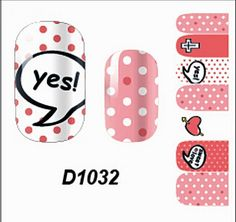 1 Pcs Wonderful Multi Mix Self Fashion Colorful Adhesive Popular Nail Art Stickers Style Code D1032 -- Be sure to check out this awesome product.