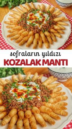 Lunch Recipes, Easy Dinner Recipes, Cooking Recipes, Breakfast Recipes, Yummy Recipes, Turkish Recipes, Italian Recipes, Ethnic Recipes, Party Food Buffet