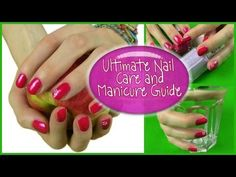 My Nail Care Routine! 16 Tips to Healthy Beautiful Strong Long Nails & How To Manicure - YouTube