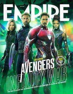 Des nouvelles couvertures d'Empire pour Avengers Infinity War.