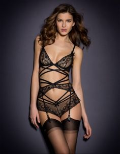 New In by Agent Provocateur - Sandra Suspender