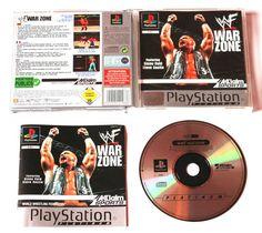 Playstation 1 WWF Warzone für Ps1