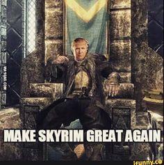 Donfric Stormtrump #games #Skyrim #elderscrolls #BE3 #gaming #videogames #Concours #NGC