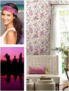 Cu ajutorul modelului de tapet potrivit poti aduce armonia in locuinta ta! Sequin Skirt, Sequins, Inspirational, Curtains, Shower, Prints, Design, Rain Shower Heads, Sequined Skirt