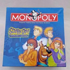 Monopoly Scooby-Doo Collector Edition Board Game 2002 Complete Parker Brothers  #USAopoly