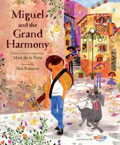 Coco: Miguel and the Grand Harmony by Matt De La Pena #book #fiction #disney