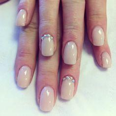 Nude Nails. Bio sculpture gel nails