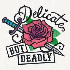 Femme Fatale - Delicate but Deadly_image