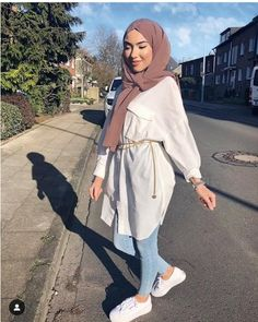 summer outfits with hijab best outfits - Muslim Fashion Hijab Fashion Summer, Modern Hijab Fashion, Street Hijab Fashion, Hijab Fashion Inspiration, Muslim Fashion, Mode Inspiration, Modest Fashion, Fashion Ideas, Casual Hijab Outfit