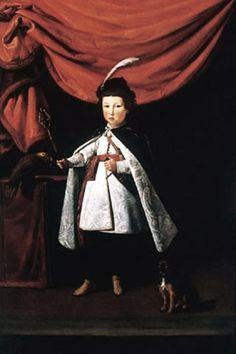 1622 Justus Sustermans (Flemish painter, 1597-1681), Cardinal Leopoldo de' Medici (1617-1675) with his dog