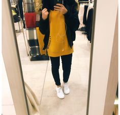IG: wissal.s.s Hijab Casual, Hijab Chic, Mode Outfits, Chic Outfits, Fashion Outfits, Girl Hijab, Hijab Outfit, Hijab Style Tutorial, Hijab Trends