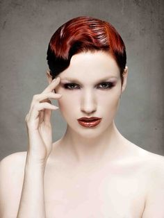 Four Red Hot Hairstyles by this year's NAHA winner, Sherri Jessee! Pin and check out later to see all four looks and how to create them! Redhead Hairstyles, Pretty Hairstyles, Hair And Makeup Artist, Hair Makeup, Vibrant Red Hair, Locks, Creative Hair Color, Editorial Hair, Hot Hair Styles