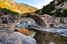 Samaria gorge. Chania, Crete, Greece