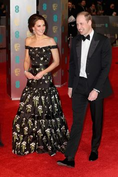 Kate Middleton'ın BAFTA Stili - InStyle Türkiye