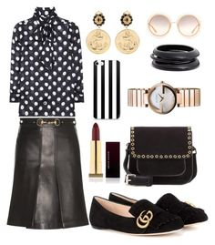 """""""Untitled #246"""" by sukia ❤ liked on Polyvore featuring Gucci, Étoile Isabel Marant, Chloé, ZENZii and Kevyn Aucoin"""