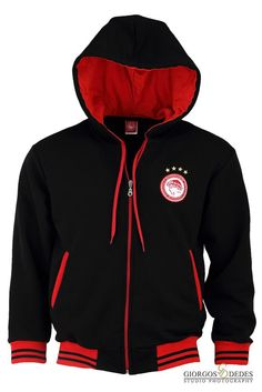 Hooded Jacket, Football, Athletic, Hoodies, Sweaters, Jackets, Fashion, Jacket With Hoodie, Soccer