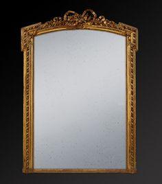Glace miroir ancien poque restauration miroir pinterest for Restauration miroir ancien