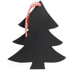 Hanger Kerst Hout Schoolbord
