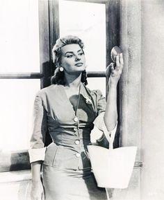 Sophia Loren in Too Bad She's Bad (1954)