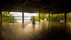 Yoga shala at Costa Dulce near San Juan del Sur, Nicaragua