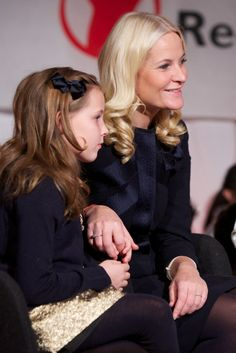Princess Ingrid Alexandra of Norway and Princess Mette-Marit of Norway attend the Save the Children's Peace Prize Festival at Nobel Peace Centre on December 10, 2012 in Oslo, Norway.