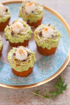 Nid de paques au guacamole - Saines Gourmandises ! Cheese Recipes, Cooking Recipes, Easter Appetizers, Time To Eat, Guacamole, Entrees, Buffet, Brunch, Food And Drink