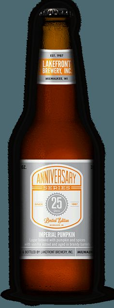 Brandy Barrel Aged Imperial Pumpkin Lager Bottle