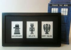 doctor who cross stich pattern - Bing Images