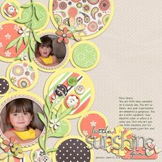 My Scrapbooking - Love this design old pics where I only have a couple for whole page