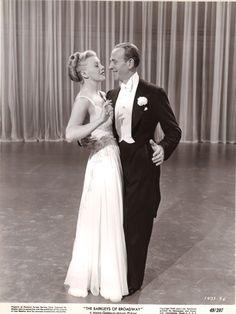 Ginger Rogers and Fred Astaire dancing to They Can't Take That Away From Me from Shall We Dance - Ira and George Gershwin tune- The Barkleys of Broadway