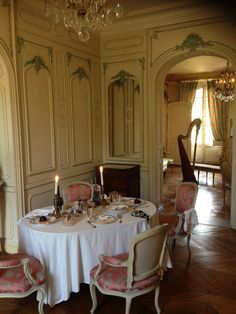 INTERIOR~ MUSÉE LAMBINET, VERSAILLES, FRANCE~ A municipal museum in Versailles telling the history of the town. Since 1932 it has been housed in the hôtel Lambinet, a hôtel particulier designed by Élie Blanchard, built in the second half of the 18th century