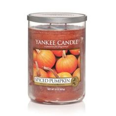 My favorite Yankee Candle scent. I burn this year round. Makes my house smell so inviting!