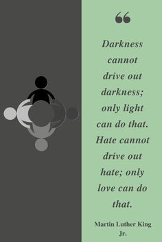 Let's Practice Love Not Hate. Happy Martin Luther King Jr. Day! #MLKDAY #martinlutherkingday #love #Equality #bettertogether #free #Tuesday www.ccaomaha.com